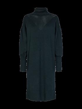 FREEQUENT - Faula kjole med rullekrave