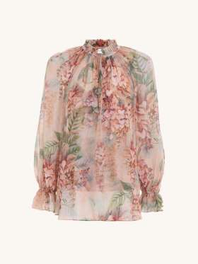 Zimmermann - CANDESCENT BLOUSE