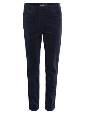 Brandtex - Fløjlsbukser med elastik