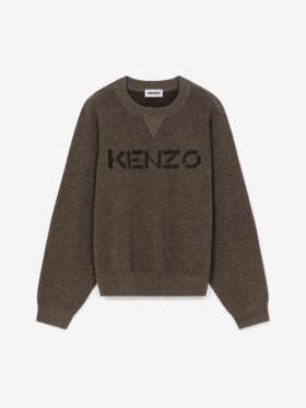 Kenzo -  Logo Merino Wool Jumper