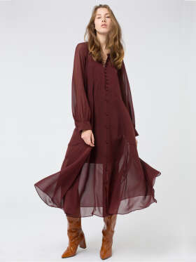 Dorothee Schumacher - Sheer Movement Dress