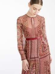MaxMara Studio - RANE Silk Chiffon Kjole