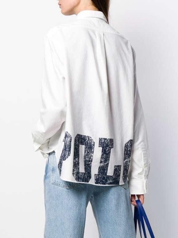 Polo Ralph Lauren - BOXY Fit Graphic Oxford Skjorte