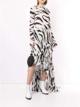 Philosophy - Eksklusiv maxi flounce kjole