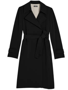 THEORY - Crepe Trench Coat