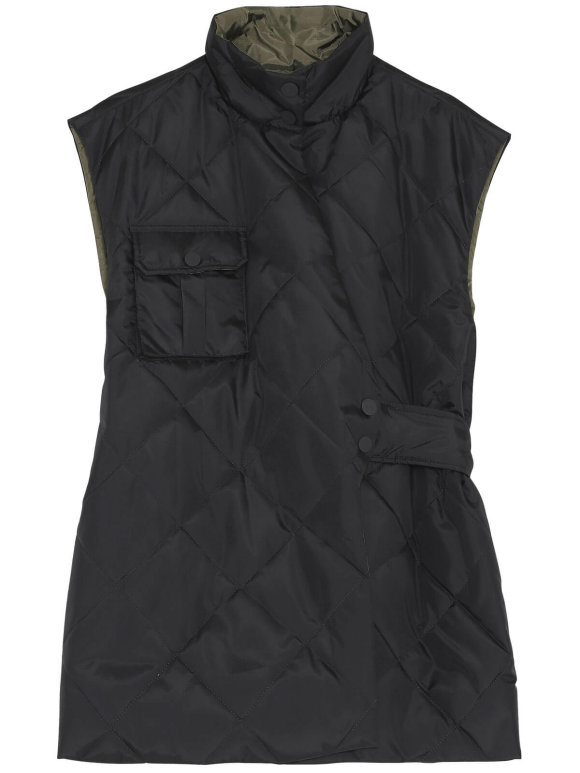 Ganni - Recycled Ripstop Quilt Vest