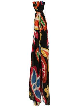 F-House - Silke Plissé Tørklæde