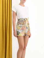 Zimmermann - Brightside Piped Shorts