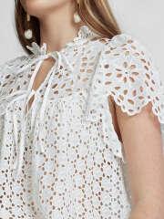 Polo Ralph Lauren - SS Elsa Broderet Bluse