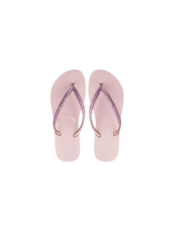 HAVAIANAS - Slim Glitter Ballet Flip Flops