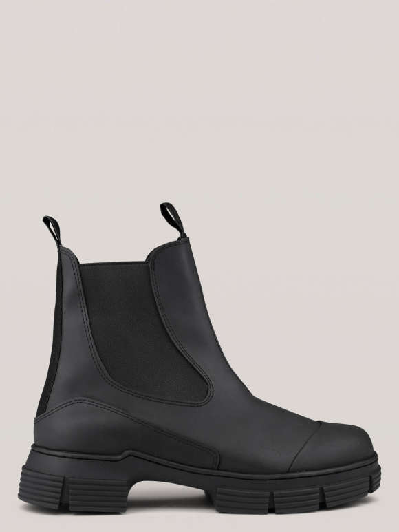 Ganni - Recycled Rubber City Boots