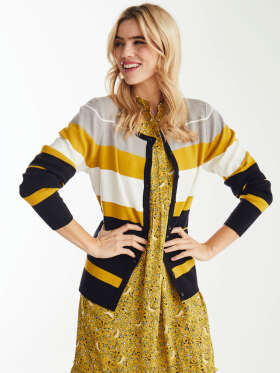 Micha - Chik stribet cardigan