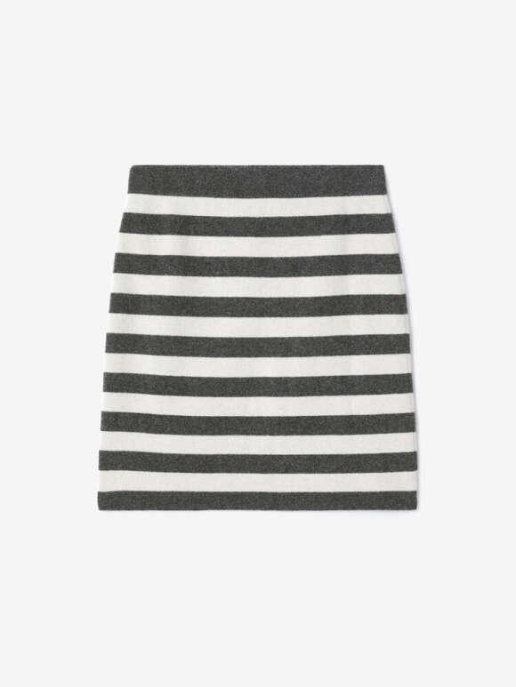 Kenzo - Striped wool mini skirt