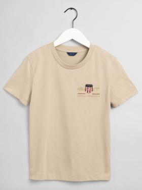 Gant - T-shirt med logo
