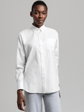 Gant - Relaxed fit pinpoint Oxford-skjorte