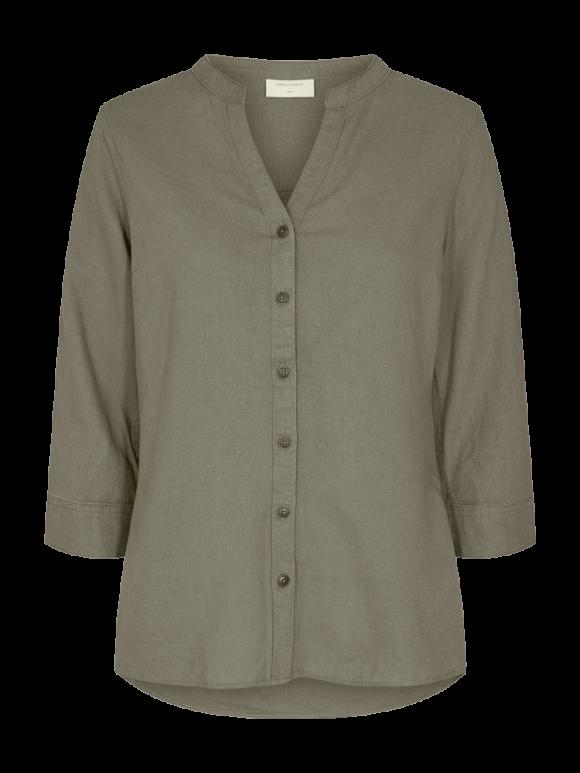 FREEQUENT - Lava ashape bluse