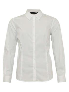 Micha - Klassisk Skjorte Bluse